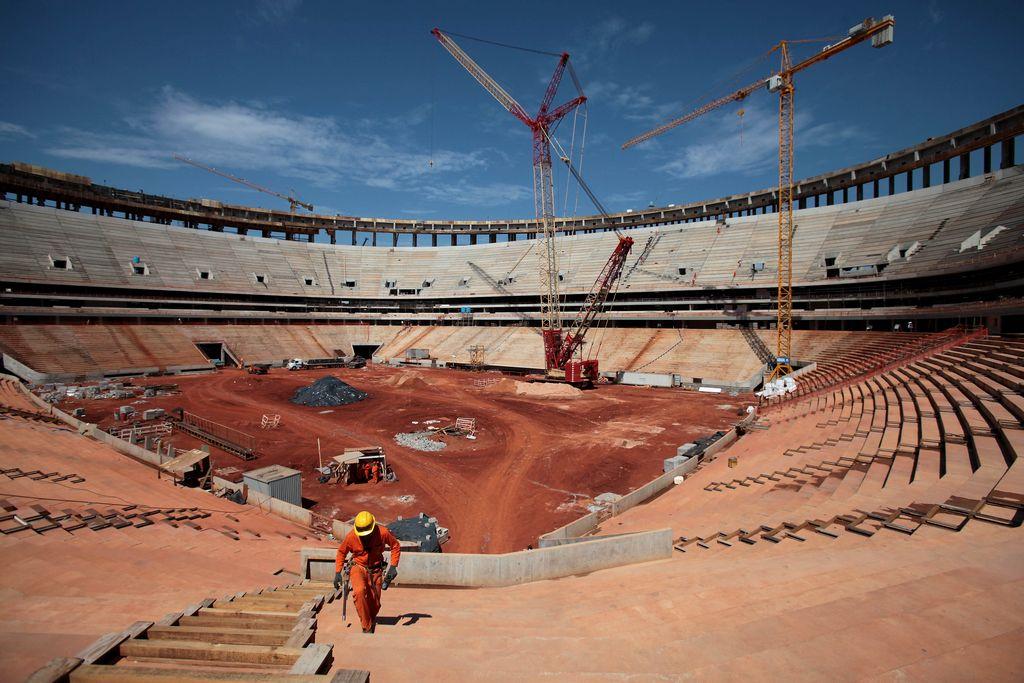"Advierten ""peligro de calor en Brasil 2014"""