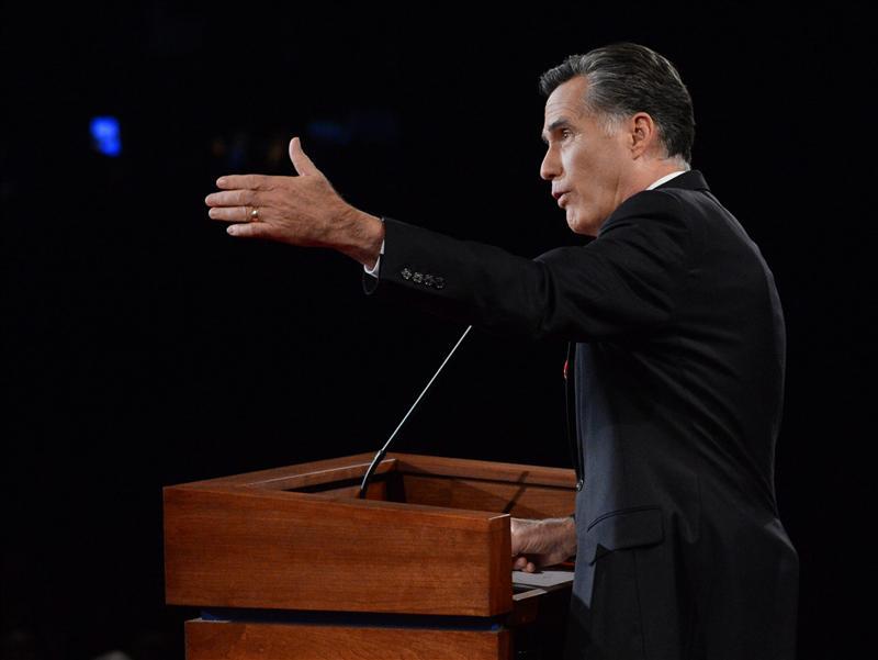 """Romney dice que endeudamiento de EE.UU. """"no es moral"""""""