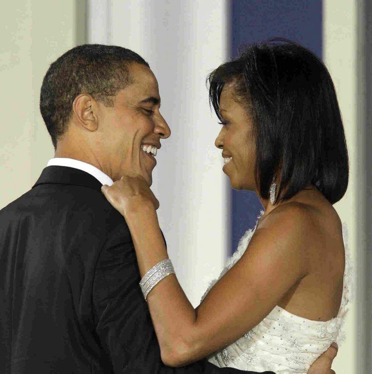 Los Obama destilan amor en sus cuentas de Twitter