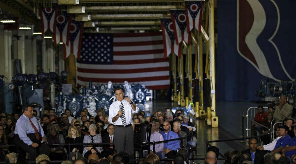 Romney promete empleos, Obama admite perdió debate