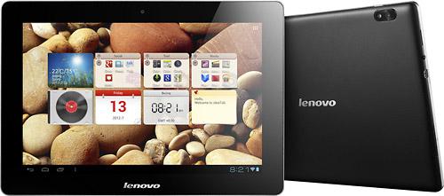 Lenovo buscar ganar terreno de Apple con tabletas