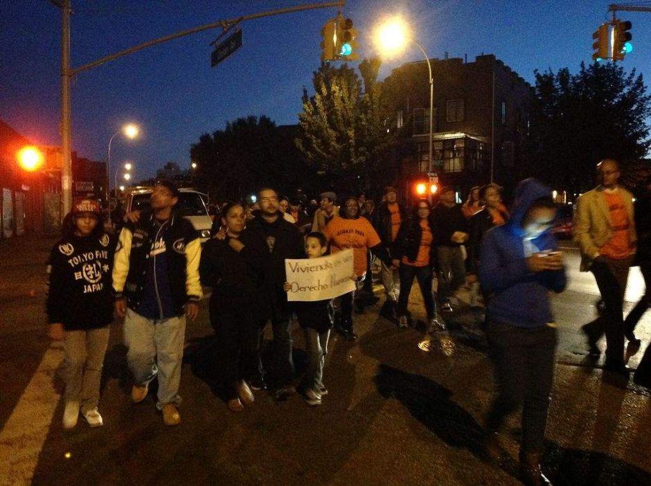 Continúan protesta contra el Triángulo de Broadway