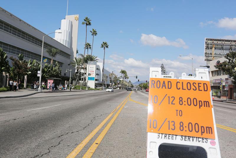 Endeavour a punto de llegar a su morada en Los Ángeles (fotos y mapa)