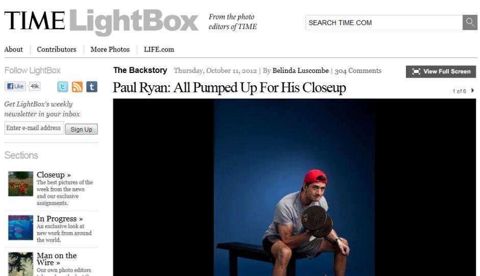 """""""Bíceps"""" de Paul Ryan acaparan las redes sociales (Fotos)"""