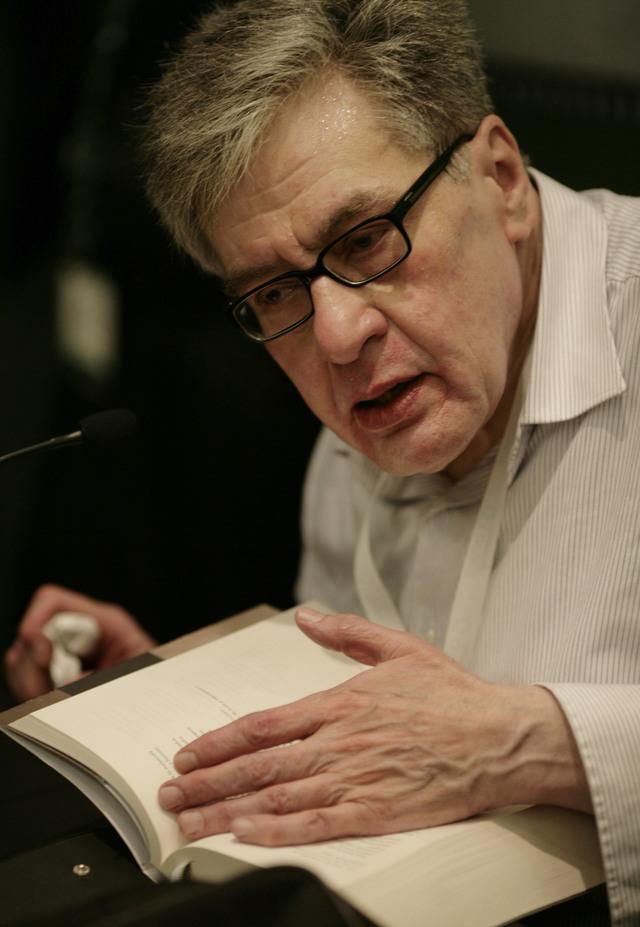 El poeta mexicano José Emilio Pacheco.