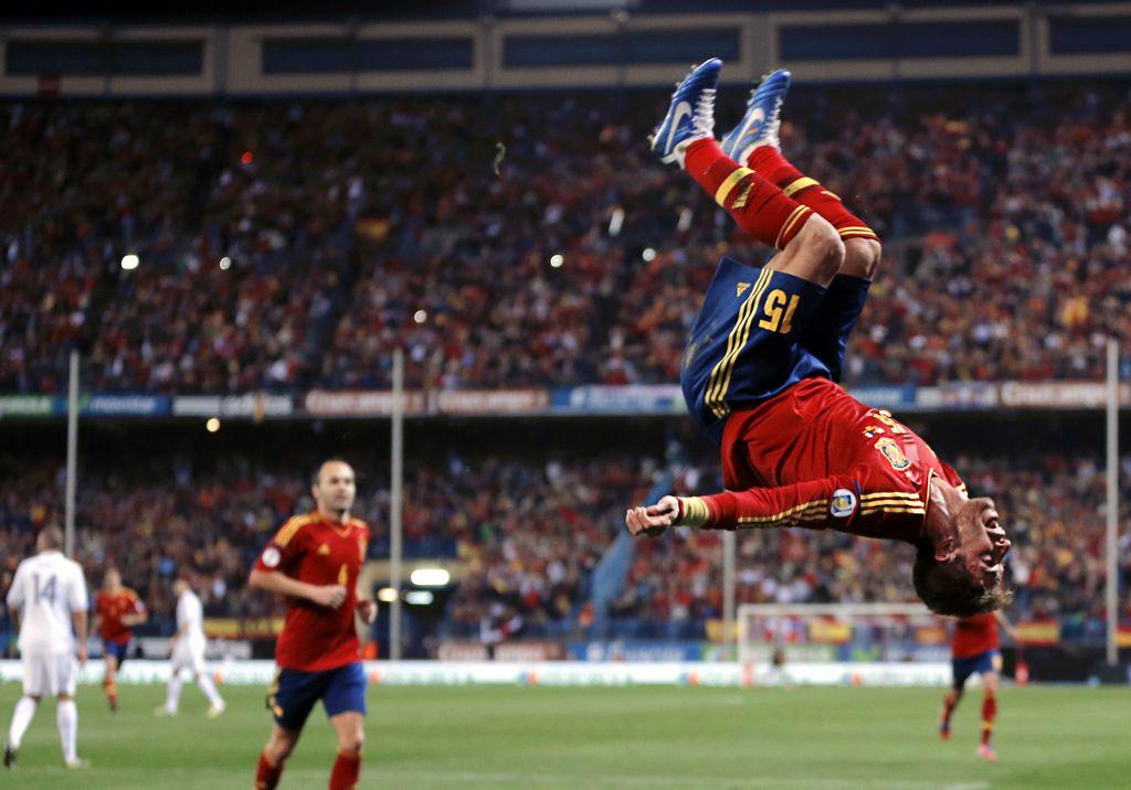 La alegría del Campeón del Mundo duro casi todo el partido. Francia le empató de último minuto.