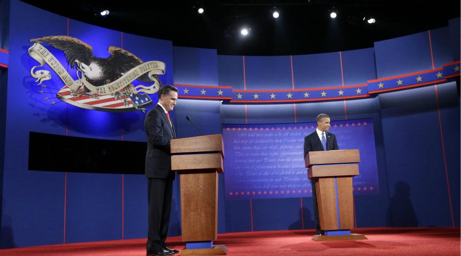 Entre los votantes registrados, Obama tiene el apoyo del 48% y Romney, del 46%, según una encuesta de Gallup publicada el martes 16 de octubre de 2012.