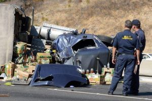 Fatal accidente deja una persona  muerta