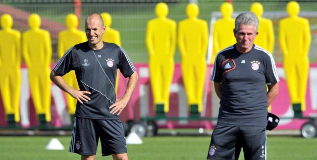 Robben niega que piense en el retiro