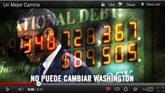 Romney lanza nuevo anuncio en español [Video]