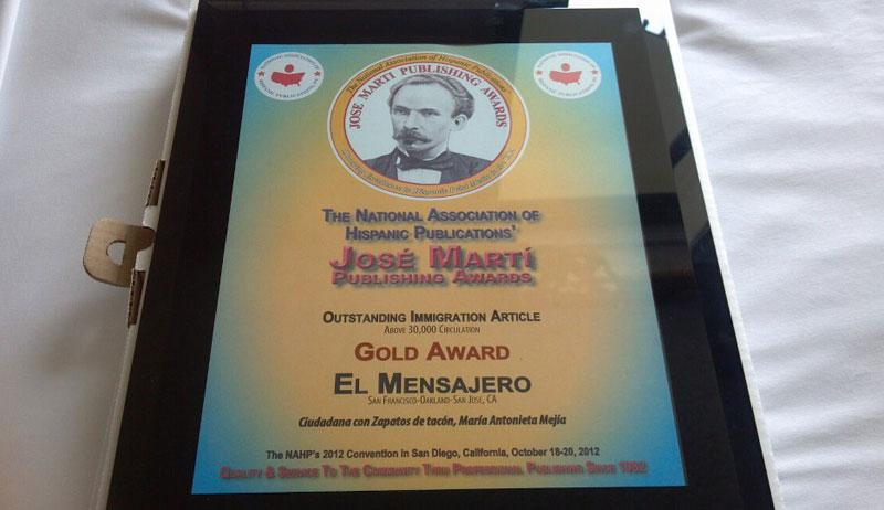 Premian a periodistas de El Mensajero
