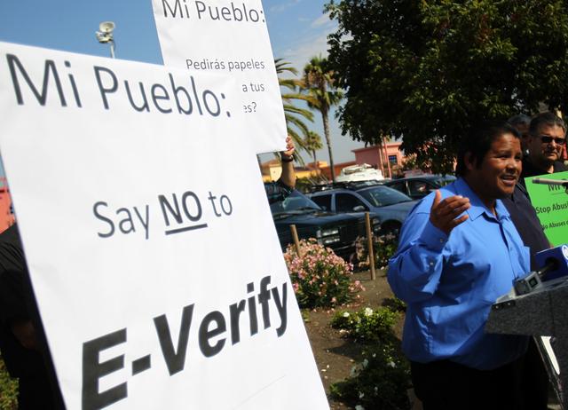 Boicot  por usar E-Verify