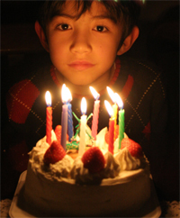 Birthday party checklist for your little boy