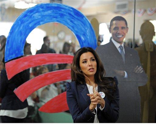 Mayoría de artistas hispanos apoya a Obama [Fotos]