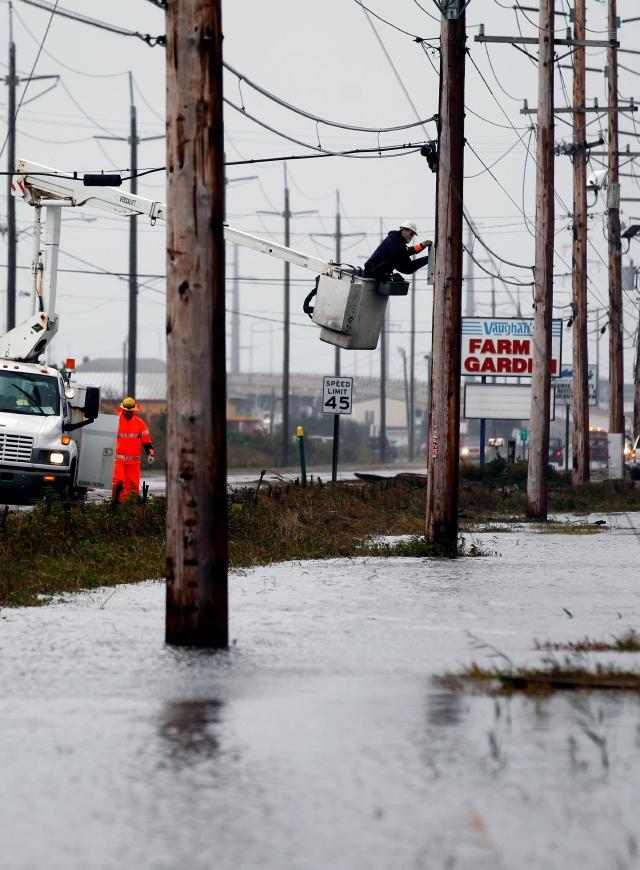 Telecomunicaciones dañadas por Sandy