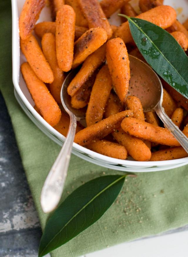 Zanahorias sabrosas y saludables