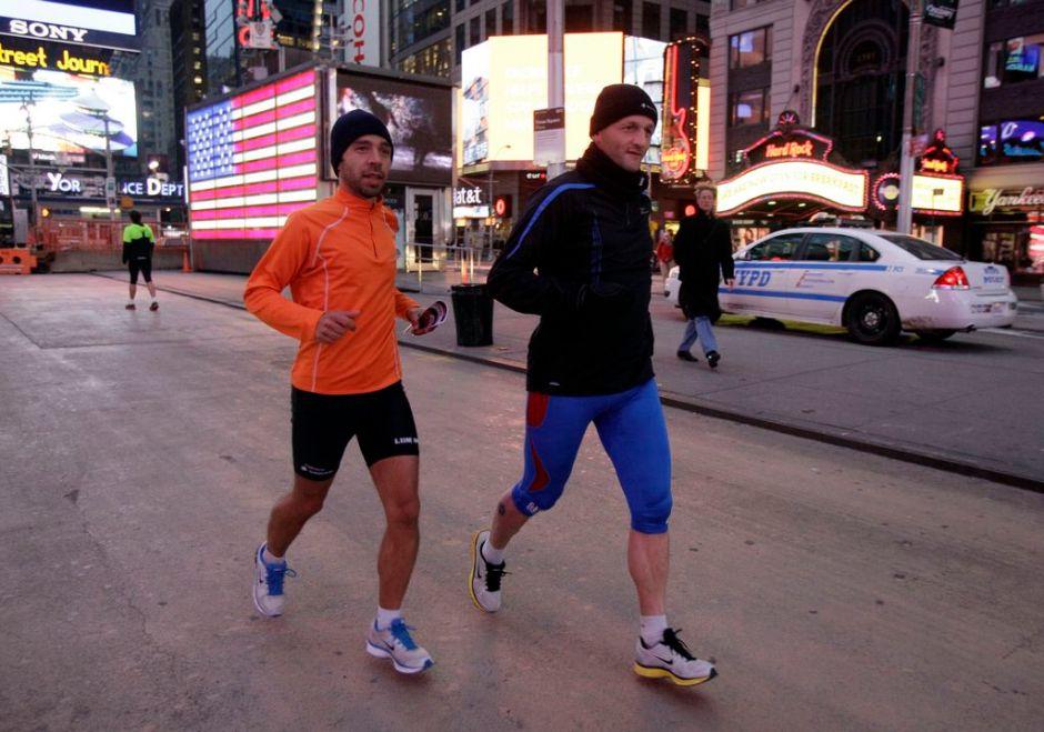 """Cancelan maratón de NY, previsto para el domingo, por """"Sandy"""""""