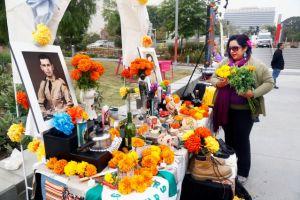 Día de los Muertos en el Grand Park de LA (Fotos)
