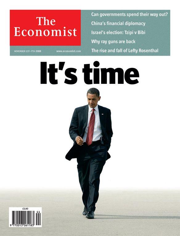 'The Economist' apoya reelección de Obama