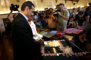 Villaraigosa con fe en el voto hispano