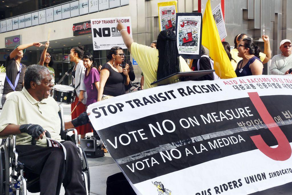 Derrota de la medida J es motivo de celebración en LA (Fotos)