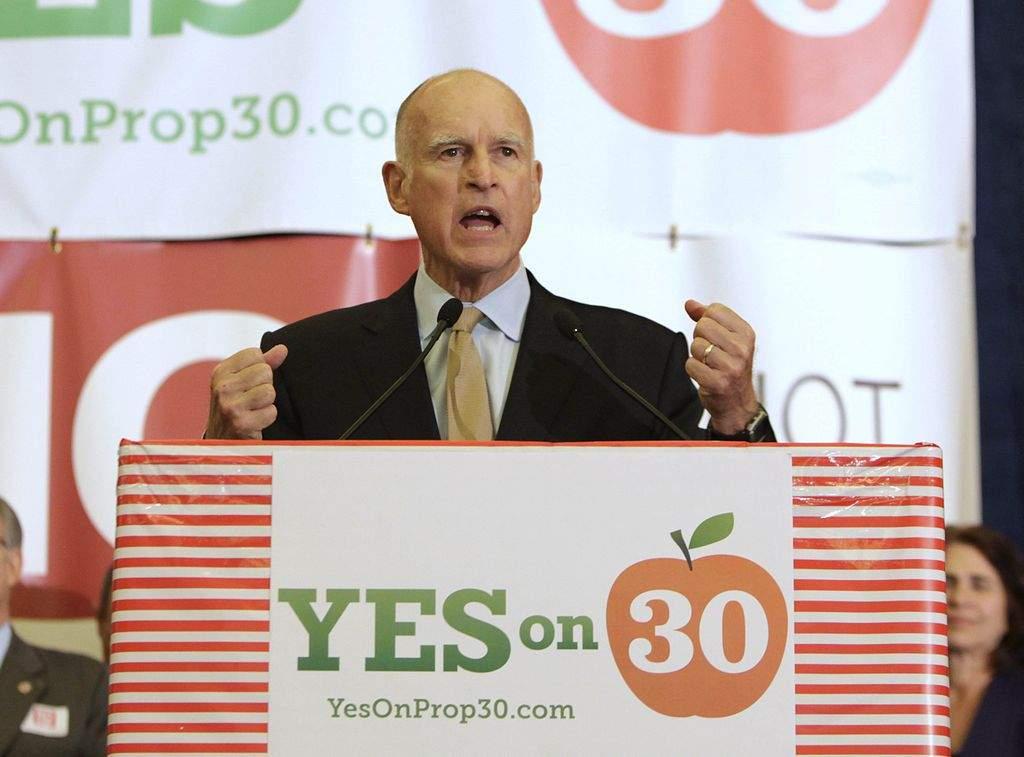 California votó a favor del alza de impuestos (fotos)
