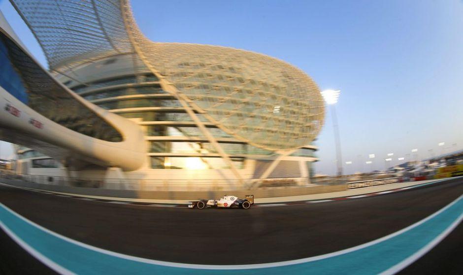 Esteban Gutiérrez se puso a punto en Abu Dhabi