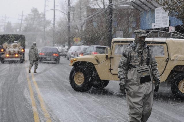 En NY empeora la   situación por el frío