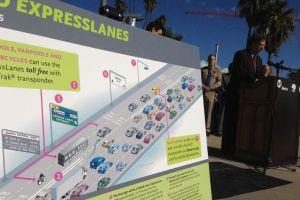 Comienza el cobro por carriles en autopistas de Los Ángeles
