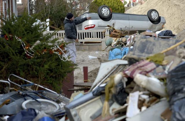 Quedan desamparados jornaleros tras 'Sandy'