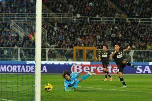 Juventus goleó al Pescara con tres de Quagliarella (Fotos)