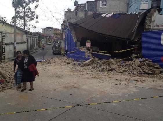 Sismo sacude de nuevo a Guatemala (Fotos)