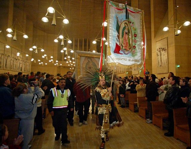 Festejarán a la Virgen en LA Festejarán a la Virgen de Guadalupe en LA