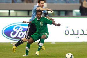 Messi lamenta el empate a cero ante Arabia Saudita (Fotos)