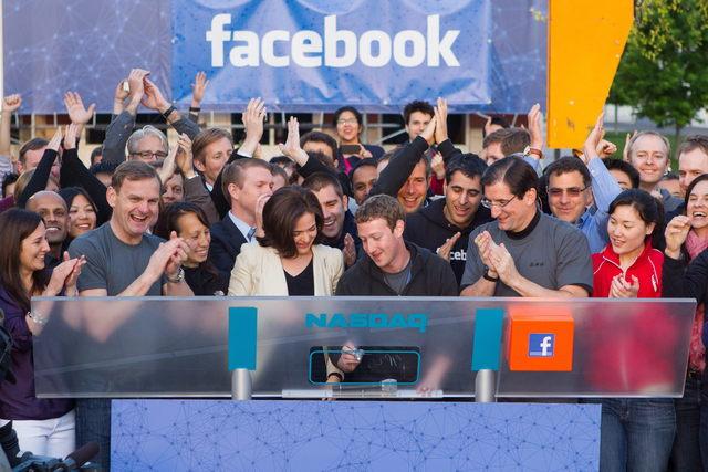 Facebook sube 8 % en bolsa