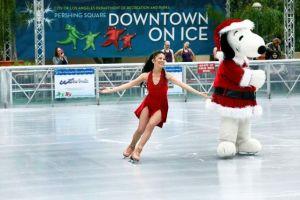 Inauguran pista de patinaje