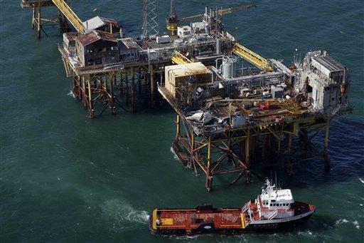 2 desaparecidos en explosión de petrolera en Golfo de México