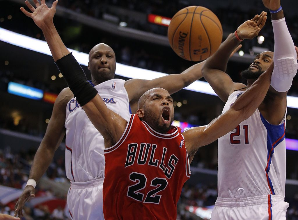 Los Clippers arrollan a los Chicago Bulls (Fotos)