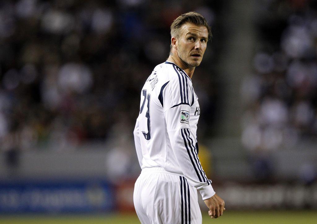 Beckham se marcha del LA Galaxy (fotos)