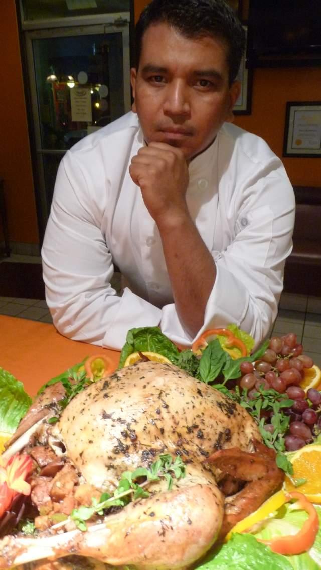 Un pavo muy latino para el Día de Acción de Gracias