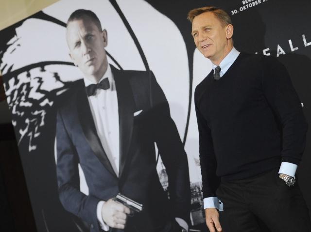 Daniel Craig, el Bond mejor pagado (fotos y video)