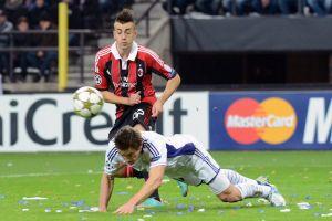 El Milán vence al Anderlecht y también pasa (Fotos)