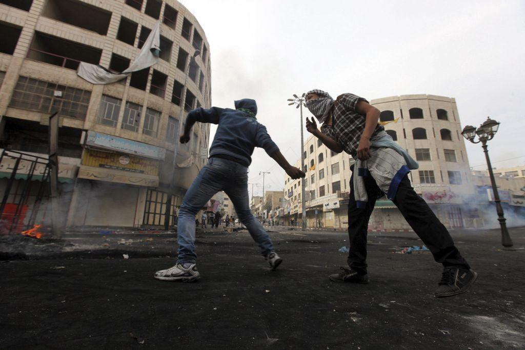 Tres cohetes se lanzaron en Gaza después del alto al fuego (Fotos)