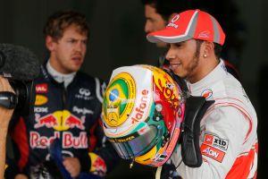 Lewis Hamilton logra pole de Gran Premio de Brasil