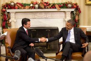 Peña Nieto se reúne con Obama