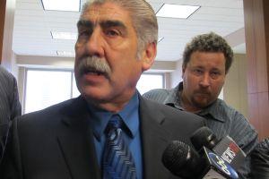 El constable Treviño comparece ante la corte en Houston