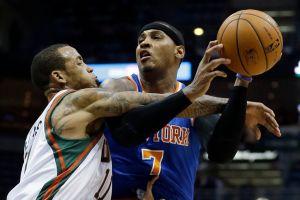 Carmelo Anthony anota 29 en triunfo de los Knicks (Fotos)