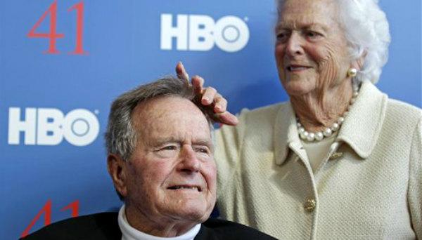 Hospitalizan a George H.W. Bush por bronquitis