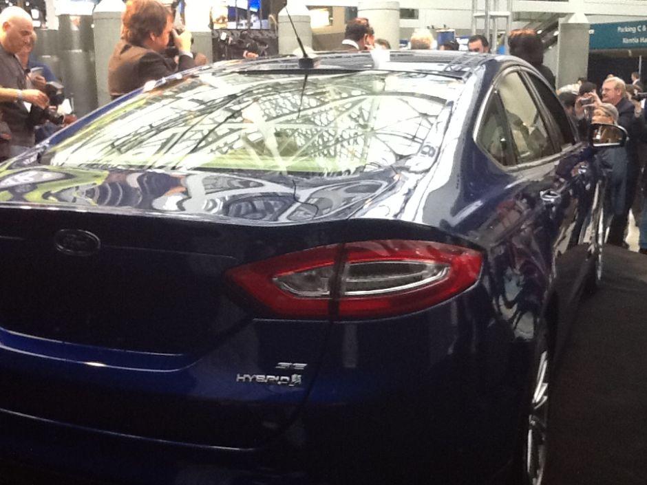 """Ford Fusion es nombrado el """"carro verde"""" del año"""