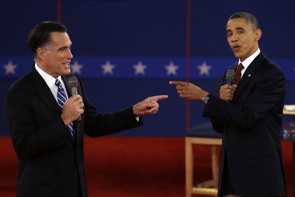 Obama y Romney discuten sobre liderazgo de EE.UU.